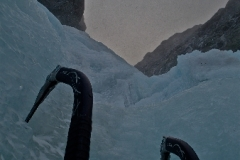 Dawn on Pinnacle Gully