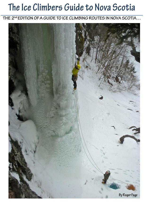 Ice Climbers Guide to Nova Scotia